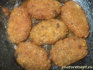 13 котлеты из гречки на сковороде