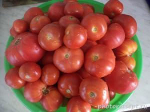1 мытые помидоры