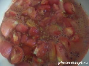 3 варим томаты