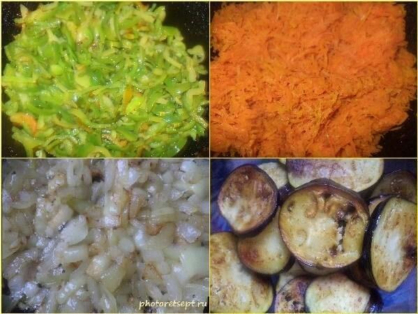 5. обжариваем овощи