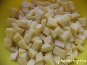 3 картофель в рассольник