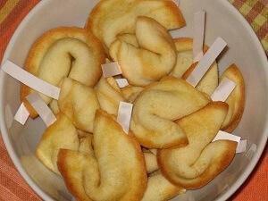 печенье с предсказаниями тесто