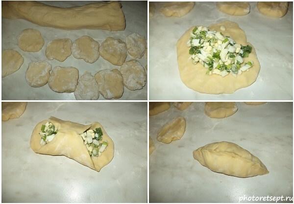 стряпаем пирожки с капустой