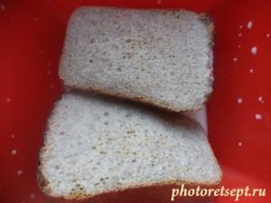 2 хлеб замочить в молоке