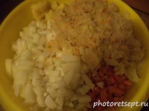 6 лук морковь и квашенная капуста
