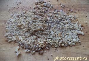 грецкие орехи измельченные