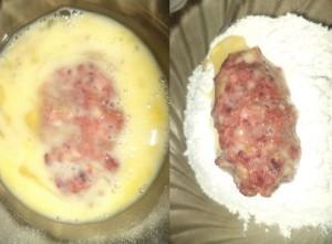 панировка в яйце и муек