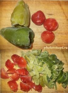 перец и помидорки