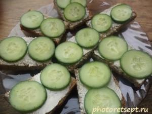 огурчики на бутерброды