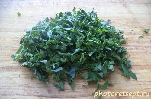 зелень петрушка сельдерей