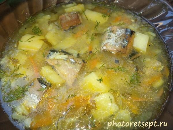 суп из консервы рецепт
