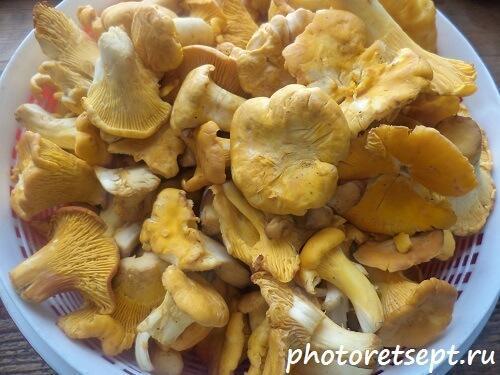 как пожарить картошку с грибами опятами на сковороде