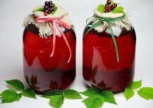 витаминный компот с черемухой
