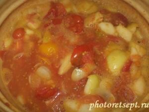 варить помидоры с яблоками