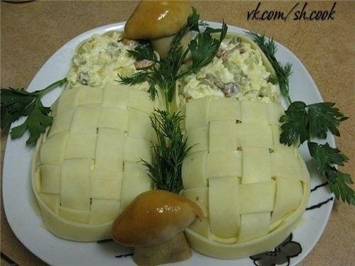 лапти из сыра
