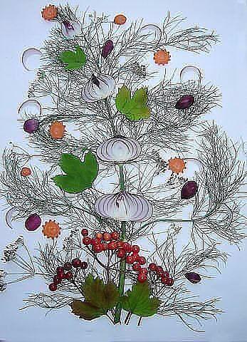 украшение салата лук 4