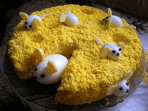украшение сыром