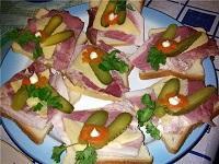 бутерброды с ветчиной вкусные