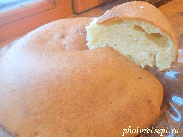 быстро пирог с капустой