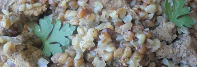 печень с гречкой в мультиварке рецепт