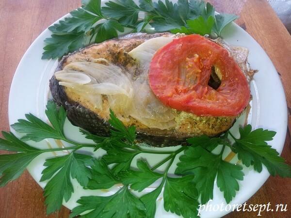 рыба на мангале рецепт