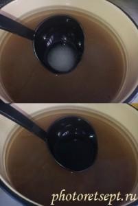сварить сироп для компота из смородины