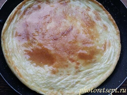 Как сделать омлет из яиц и майонеза
