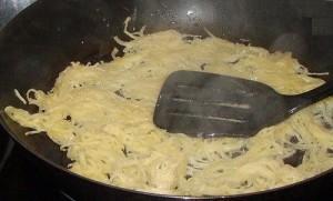 драник из картофеля жарить