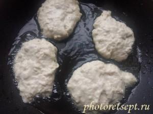 оладьи из простокваши на сковороде