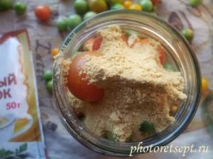 как сохранить помидоры свежими с горчицей