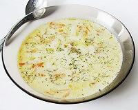 Суп из плавленого сыра в мультиварке