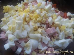 оливье яйца