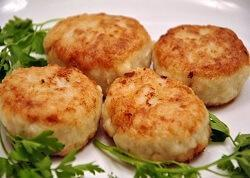 Котлеты картофельные рецепт без начинки