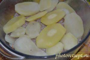 картошка на фарш
