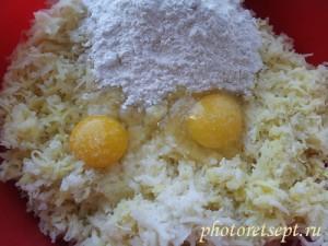 мука яйца картошка котлеты