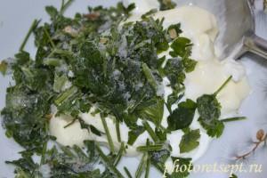 соус для картошки с фаршем в духовке