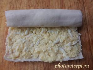 крабовые палочки с сыром в рулет
