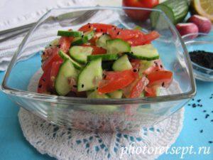 салаты к шашлыку рецепт с фото