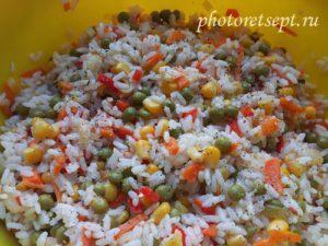 специи в гарнир из риса