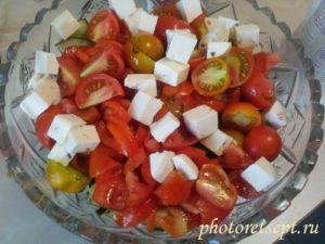 фетакса помидоры огурцы лук