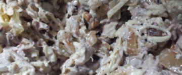 салат мужской каприз рецепт