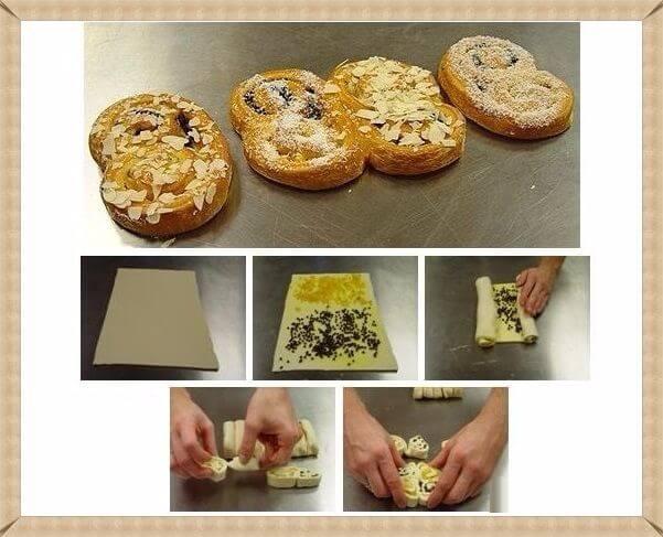 Цветные булочки в духовке - рецепт пошаговый с фото