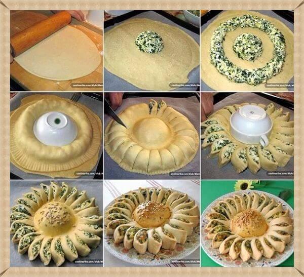 как украсить пирог фото