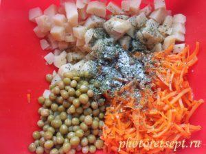 зелень в салат корейский