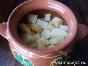 картофель сырой нарезать