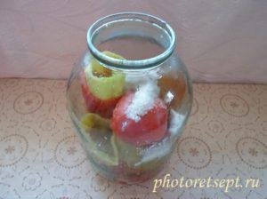 консервирование перца болгарского на зиму