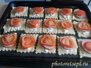 помидоры на колбасу