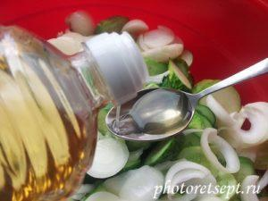 растительное масло в салат