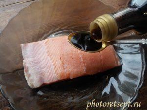 соевый соус на рыбу