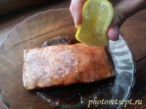 маринуем в лимоне рыбу